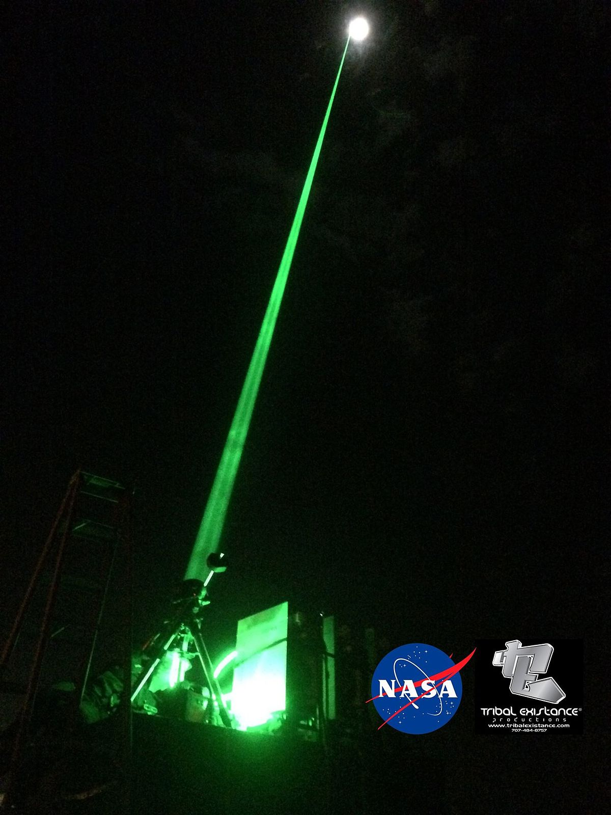 iss space sky laser