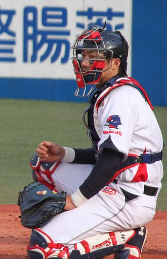 Ryoji Aikawa - Aikawa with the Tokyo Yakult Swallows