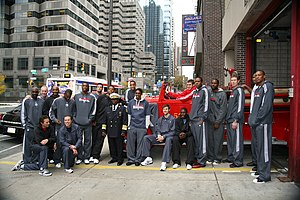 2010–11 Philadelphia 76ers season - The team at the end of the 2010 preseason