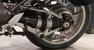 Kawasaki 1400GTR - Tetra Lever rear drive system