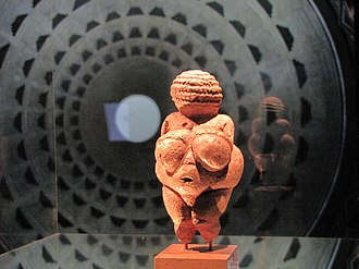 Austria - Venus of Willendorf, 28,000 to 25,000 BC. Museum of Natural History Vienna