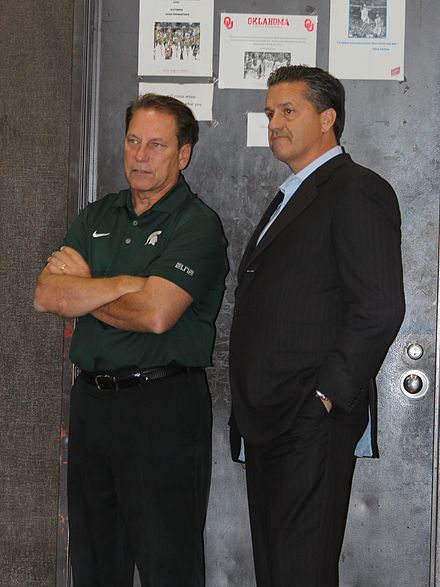 Izzo and John Calipari of Kentucky, the two highest paid college coaches in 2012[9]