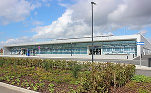 Kassel Airport - Image: 2013 09 26 Kassel Calden Terminal (KSF)