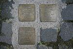 2014-04-12 0156 Stolpersteine Wassergasse 12, Regensburg.JPG