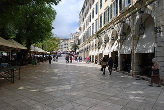 Corfu (city) - Spianada Square