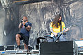 20140613-010-Nova Rock 2014-Sepultura-Derrick Leon Green and Andreas Kisser.JPG