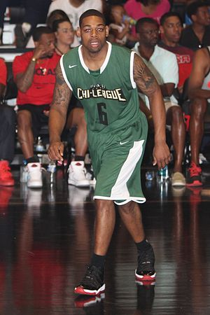 Demetri McCamey - McCamey in the Nike summer basketball Chi-League in 2014