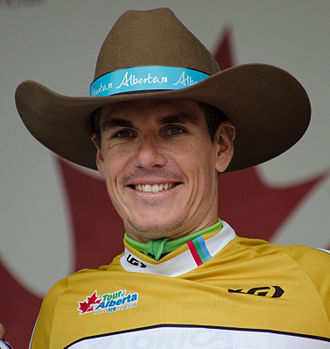 Daryl Impey - Impey at the 2014 Tour of Alberta