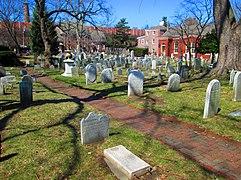 2014 Gloria Dei (Old Swedes%27) Church graveyard.jpg