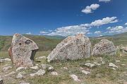 2014 Prowincja Sjunik, Zorac Karer, Prehistoryczny kompleks megalityczny (011).jpg