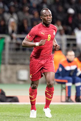 Emmanuel Agyemang-Badu - Badu with Ghana in 2015