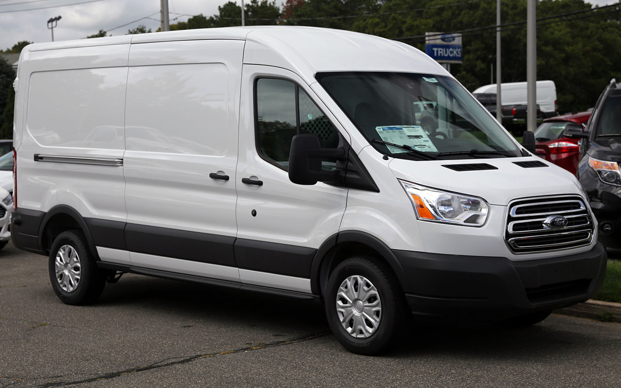 A Ford Transit, compliments of Wikipedia!