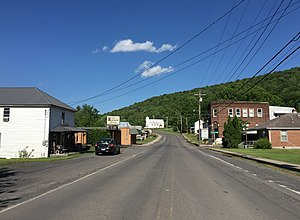Bayard, West Virginia - Front Street in Bayard