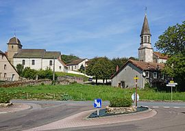 The churches in Chagey
