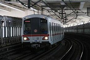 上海地铁DC01型电动列车
