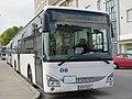 2017-09-28 (353) Iveco Bus Crossway LE Line 12 at Bahnhof Krems an der Donau, Austria.jpg