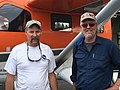 2017. US Fish and Wildlife Service, Migratory Bird Program pilot Walt Rhodes (left) and USFS aerial observer Bob Schroeter. Redmond Airport, Oregon. (37751662114).jpg