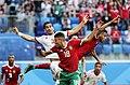 2018 FIFA World Cup Group B march IRN-MAR 34.jpg