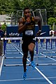 2018 USATF Outdoor National Championships SPC Marcus Maxey- first round of the men's 110m hurdles (29103602858).jpg
