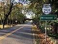 2019-10-15 08 47 11 View south along Virginia State Route 255 (Bishop Meade Road) at Lanham Lane in Briggs, Clarke County, Virginia.jpg
