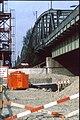 207R19270492 Bereich Nordbahnbrücke, Bau der Trasse für die U Bahn Linie U6, Nordbahnbrücke Ostseite.jpg