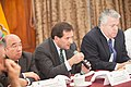 21-05-14- Quito Ecuador,Canciller Ricardo Patiño conversó con medios de comunicación sobre la universalización del SIDH y Día Internacional contra Chevron-33 (14052949147).jpg