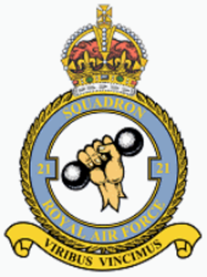 No. 21 Squadron RAF - 23 Squadron badge