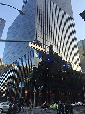 LinkedIn - LinkedIn office building at 222 Second Street in San Francisco (opened in March 2016)