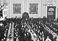 26 December 1915 Soldiers Dinner in Lewes Town Hall the Kiss is under the cover.jpg