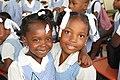 2 Mädchen im Stiftung UNESCO Projektgebiet Haiti (Lateinamerika)..jpg