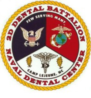 2nd Dental Battalion - 2nd Dental Battalion's emblem