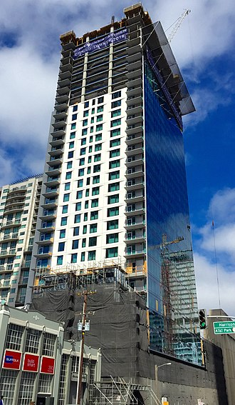 340 Fremont Street - Image: 340 Fremont Street, San Francisco, Under Construction August 2015, South View