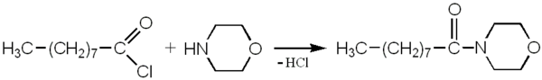 4-nonanoylmorpholine - synthesis 1a.png