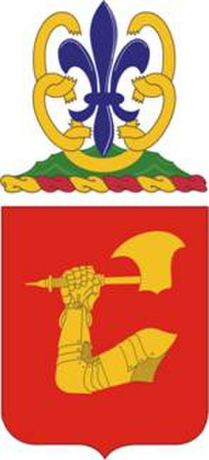 40th Field Artillery Regiment - Coat of arms