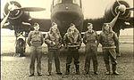 458 Squadron RAAF Wellington aircrew Dec 1941 AWM P00631.003.jpg