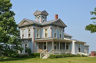 Washington Township, Hancock County, Ohio - Farmhouse south of Arcadia