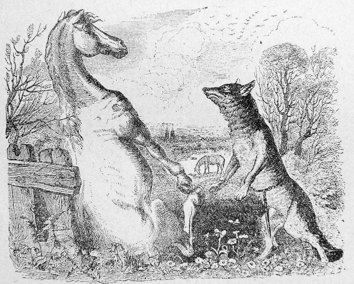 Le cheval et le loup wikip dia - Tchoupi et le cheval ...
