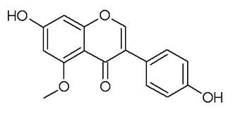 5-O-Methylgenistein - Image: 5 O methylgenistein
