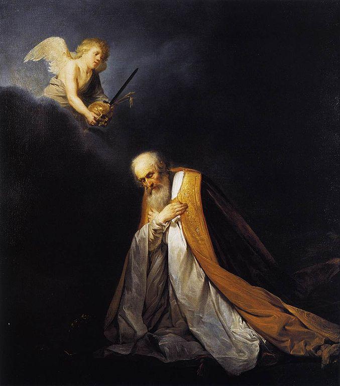 기도하는 다윗 왕
