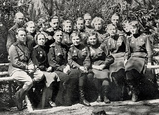 75th Guards Rifle Division - Personnel of the division's 585th Medical Battalion, 1944