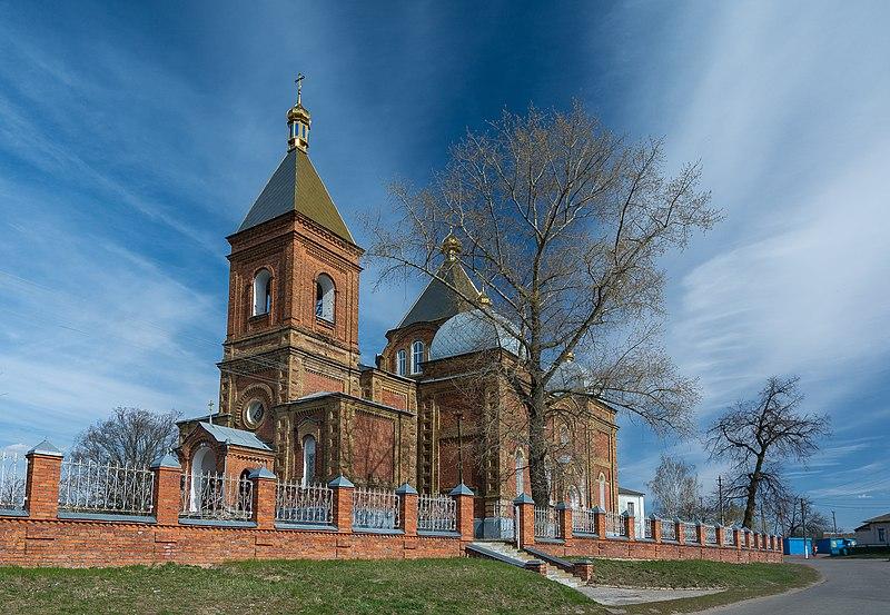 Ансамбль Покровської церкви, село Вирівка (Сумська область).