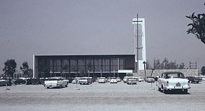 Robert Schuller - Garden Grove Community Drive-In Church, completed in 1961