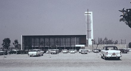 Garden Grove Community Drive-In Church, completed in 1961 6207-GardenGroveCommunityDriveInChurch.jpg