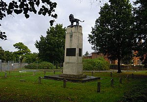 8th Infantry Division (United Kingdom) - Memorial to the 8th Infantry Division in Aldershot dedicated in 1924