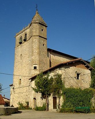 Condado de Treviño - Image: Añastroko eliza