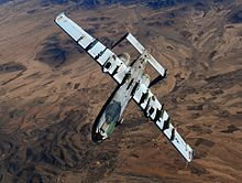 Automimicry underside of A-10 Thunderbolt II with false canopy painted in as if the plane was the right way up & Aircraft camouflage - Wikipedia