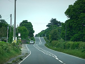 Worgret - Image: A352 at Worgret geograph.org.uk 1327752