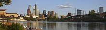 A610, Philadelphia skyline from Boathouse Row, 2019.jpg