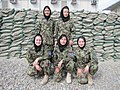 AAF female lieutenants posing for camera in 2010.jpg
