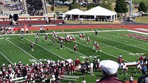 Alabama A&M Bulldogs football - Image: AAM Uvs GSU2014
